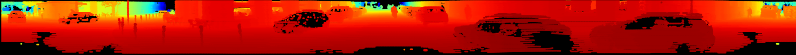 Image of panoramic lidar depth