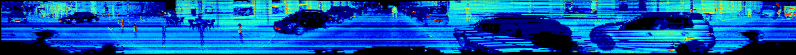 Image of panoramic lidar reflectance